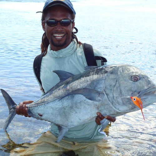 Fly Fishing:  very exclusive and exiting fly fishing trips to St Joseph, Astove, Cosmoledo, Providence and Farquhar, the most southern islands of the Seychelles.