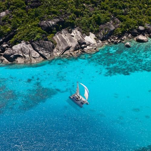Luxury Catamaran Seychelles