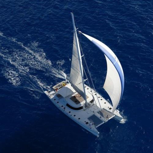 Maxi Catamaran Sailing Seychelles Lonestar