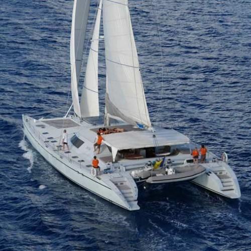 Maxi Lonestar Catamaran Seychelles